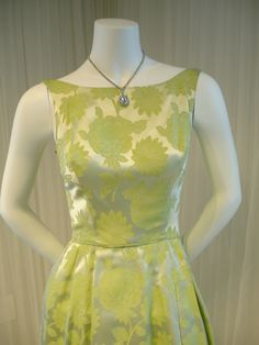 Image result for lime green brocade gown