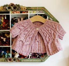 patron tricot gilet Mignon de Loop London