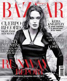 keira knightley magazine cover 2014 | Keira Knightley for Harper's Bazaar Mexico February 2013