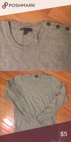 GAP Crew Neck Sweater SUPER SOFT AND COMFY! Never worn. Runs big GAP Sweaters Crew & Scoop Necks