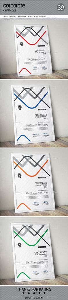 Certificate Template Vector EPS. Download here: http://graphicriver.net/item/certificate/13578468?ref=ksioks