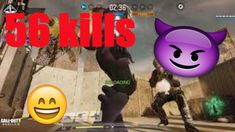 56 kills New mode Capture the flag / call of duty mobile Capture The Flag, Call Of Duty