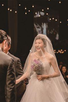 Star Wedding, Wedding Shoot, Wedding Couples, Wedding Dresses, Bridal Makeup, Wedding Makeup, Korean Wedding, Celebs, Celebrities