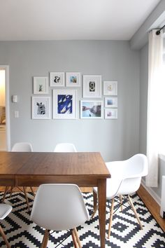 Home Tour: Mid Century Modern Dining Room