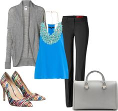 """""""Spring-time professional outfit"""" by sfgal13 on Polyvore"""