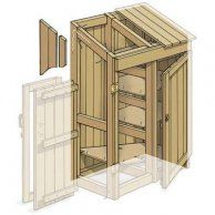 How to Build a Garden Tools Shed - This Old House Best Garden Tools, Garden Tool Shed, Diy Garden, Gardening Tools, Organic Gardening, Gardening Supplies, Indoor Gardening, Summer Garden, Garden Tool Organization