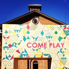 [Playscapes Blog] - PLAY[ground] for Vivid Sydney, 2015 #Playscapes #PopUpPlay #Play