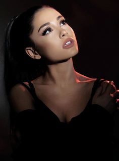 One of Ariana Grande& most stunning Portraits to date. What a beautiful Wom.