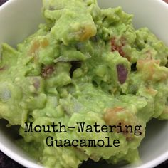 The best Vegan mouth watering guacamole ever!