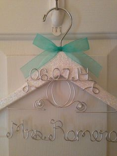 Cinderella Wedding Hanger! For That Magical Touch to Your Fairy Tale Wedding!, $10.00
