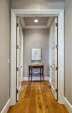 Private entrance to master suite