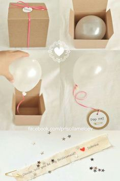 15 Creative Ways to Propose to Your Bridesmaids Ballon iDeen 🎈 Perfect Wedding, Dream Wedding, Wedding Day, Surprise Wedding, Wedding Gifts, Wedding Favors, Wedding Ceremony, Surprise Box, Birthday Surprise Ideas For Best Friend