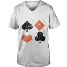 vintage poker playing cards T-Shirt_1 | Best T-Shirts USA are very happy to make you beutiful - Shirts as unique as you are.