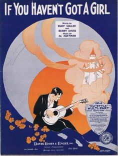 If You Haven't Got A Girl, 1930 Vintage Sheet Music | eBay