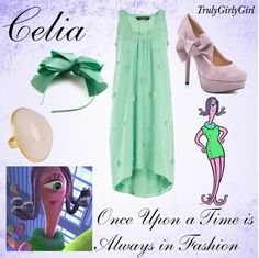 Disney Style: Celia, created by trulygirlygirl Disney Bound Outfits Casual, Disney Themed Outfits, Classy Outfits, Disney Prom, Disney Dress Up, Disney Clothes, Disney Fun, Disney Pixar, Cute Costumes