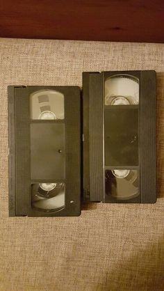 Stare kasety video magnetowidowe - wspomnienie z prl- u