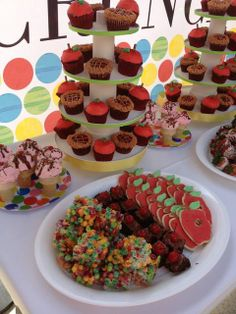 Food from a Very Hungry Caterpillar Party #veryhungrycaterpillar #partyfood
