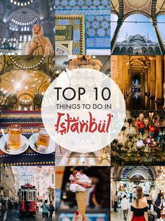 Here are ten of the most amazing things to do when visiting the city of Istanbul in Turkey!