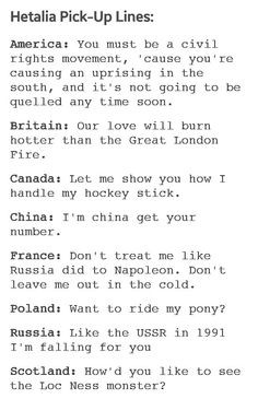 Russian chat up lines
