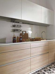 Cocina con estilo: Muebles arriba y abajo
