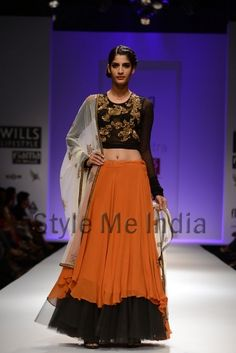 Joy Mitra at Wills Lifestyle India Fashion Week Autumn Winter 2013