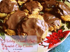Holiday Baking Ideas: Peanut Butter Chocolate Chip Cookies