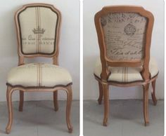 Beautiful French chair ~ by BessieLouVintage on Etsy