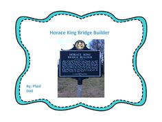 Horace King was famous in the deep South for his bridges.