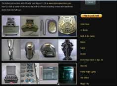 Robocop Auctions Coming Soon; VIP Fan Auctions Announce