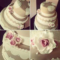Wedding cake, romantic