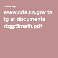 www.cde.ca.gov ta tg sr documents rtqgr5math.pdf