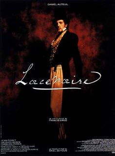 I have this poster from the French film Lacenaire at home.