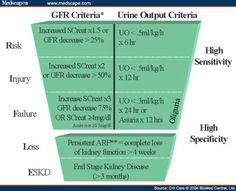 urine output criteria during renal failure.