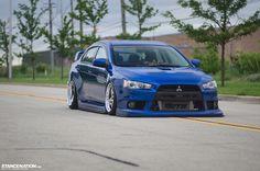 Mitsubishi Evolution X | Photos by Damian Kikolski - STANCENATION.
