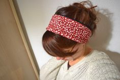 Crafty Bitches - Blog DIY, Couture, Déco, Vintage. Tuto couture, Do it yourself, décoration, rétro.: Tuto ultra-rapido : Heartband chaud-chaud-chaud
