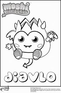 moshi monsters moshlings coloring pages are free and super fun to ... - Baby Moshi Monsters Coloring Pages