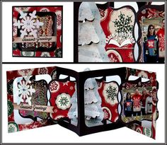 Karen Burniston's Gallery: Seasons Greetings Accordion Album