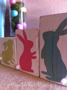 Mine for the Making: Bunny Blocks {tutorial}