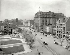 (c. 1910) Pennsylvania Avenue west from the Old Post Office - Washington, D.C.
