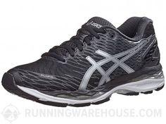ASICS Gel Nimbus 18 Women's Shoes Black/Silver/Carbon Asics Running Shoes, Asics Shoes, Running Gear, Workout Attire, Workout Wear, New Shoes, Women's Shoes, Most Comfortable Shoes, Travel Shoes