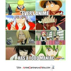 So true. XD #FoodFreaks // if I were in anime, this would be me.