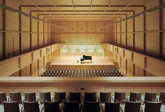 Atelier Kempe Thill - Franz Liszt concert hall, Raiding 2006