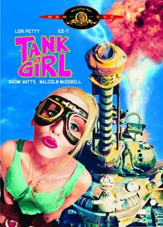 Tank Girl's hair fell to her shoulders. Description from wizzley.com. I searched for this on bing.com/images