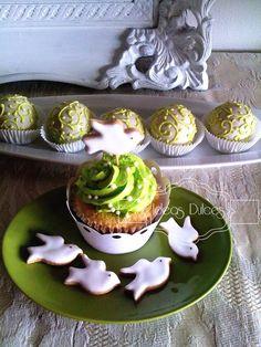 cupcakes-en-verde-pistacho-para-primera-comunic3b3n-1.jpg (720×960)