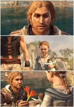 Assassin's Creed Black Flag. Edward and Jenny