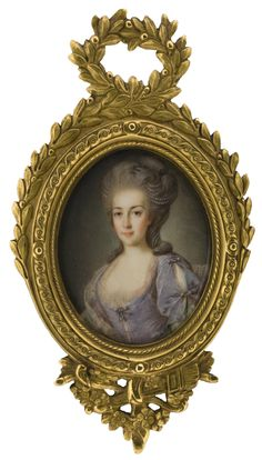 Portrait of a lady, 1775, French school