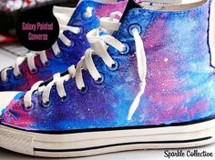 30 things to do with your converse. I totally want nebula chucks!