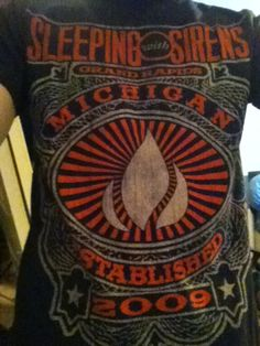 sleeping with sirens shirt | Tumblr | the worlds greatest shirt