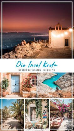 The highlights on Crete. honeymoon - honeymoon destinations - honeymoon night - honeymoon tips - hon Honeymoon Night, Honeymoon Tips, Hawaii Honeymoon, Romantic Honeymoon, Romantic Travel, Europe Destinations, Honeymoon Destinations, Greek Islands To Visit, Best Greek Islands
