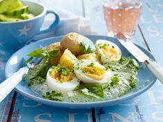 Günstig kochen - preiswerte Gerichte für jeden Tag - eier-mit-gruener-sosse  Rezept